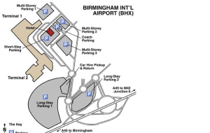 Preview 2 of the Birmingham Airport Parking website