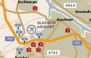 Preview 2 of the Glasgow Airport Parking website
