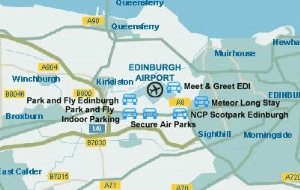 Preview 4 of the Edinburgh Airport Parking website