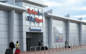 Preview 2 of the Durham Tees Valley Airport Parking website