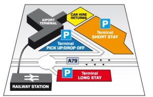 Preview 2 of the Prestwick Airport Parking website