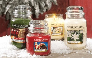 Preview 2 of the Yankee Candles website