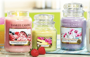 Preview 4 of the Yankee Candles website