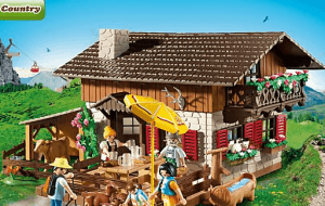 Preview 3 of the Playmobil website