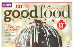 Preview 2 of the Good Food Magazine website
