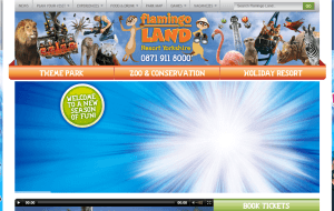 Preview 2 of the Flamingo Land website