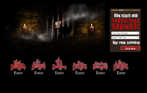 Preview 2 of the The Dungeons website