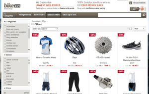 Preview 4 of the Bikeinn website