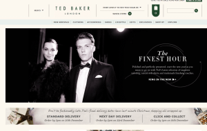 Preview 2 of the Ted Baker website