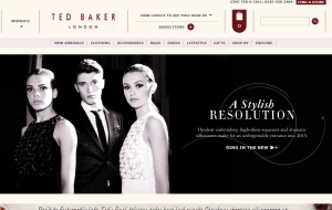 Preview 3 of the Ted Baker website