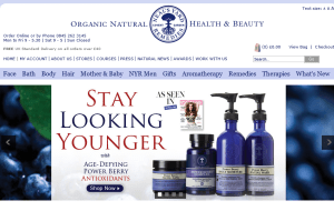 Preview 3 of the Neals Yard website