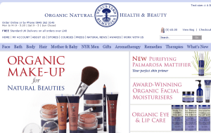 Preview 2 of the Neals Yard website