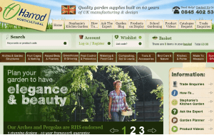 Preview 3 of the Harrod Horticultural website