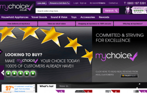 Preview 3 of the My Choice website