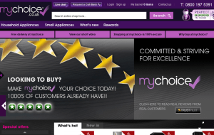 Preview 2 of the My Choice website