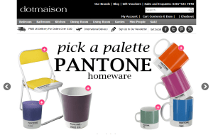 Preview 3 of the Dotmaison website