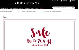 Preview 4 of the Dotmaison website