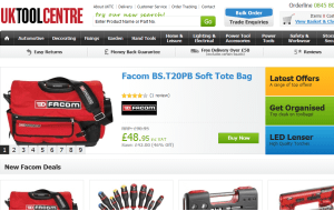 Preview 3 of the UK Tool Centre website