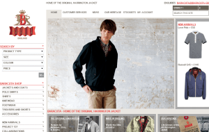Preview 2 of the Baracuta website