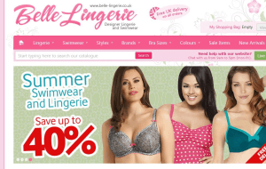 Preview 6 of the Belle Lingerie website
