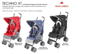 Preview 2 of the Maclaren website