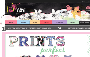 Preview 2 of the Yumi Direct website