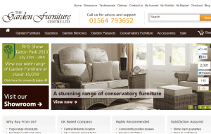 Preview 3 of the Garden Furniture Centre website