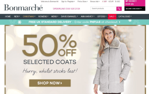 Preview 2 of the Bonmarche website