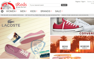 Preview 3 of the tReds website