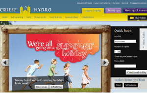 Preview 3 of the Crieff Hydro Hotel & Resort website