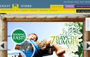 Preview 2 of the Crieff Hydro Hotel & Resort website