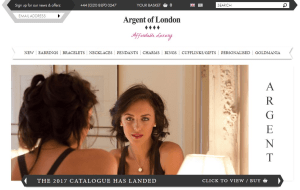 Preview 4 of the Argent Of London website