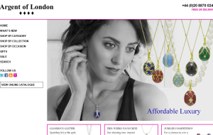 Preview 2 of the Argent Of London website
