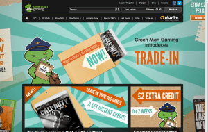Preview 3 of the Green Man Gaming website