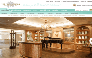 Preview 2 of the Fortnum & Mason website