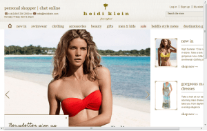 Preview 3 of the Heidi Klein website