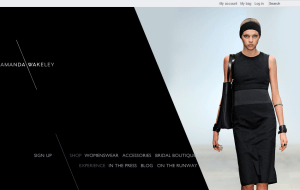 Preview 2 of the Amanda Wakeley website