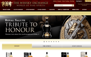 Preview 2 of the Whisky Exchange website