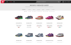 Preview 5 of the New Balance website