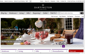 Preview 3 of the Dartington Crystal website