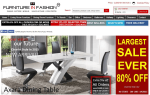 Preview 4 of the Furniture In Fashion website