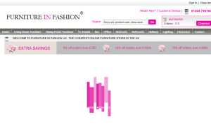 Preview 2 of the Furniture In Fashion website