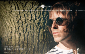 Preview 2 of the Pretty Green website