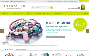 Preview 3 of the Chamilia website