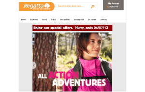 Preview 3 of the Regatta website