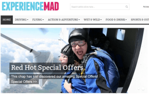 Preview 5 of the Experience Mad website