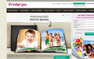 Preview 3 of the PrinterPix website