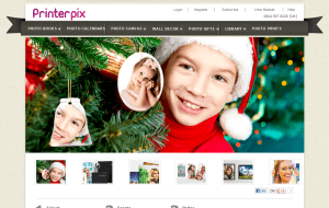 Preview 2 of the PrinterPix website