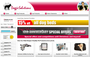 Preview 2 of the Doggie Solutions website