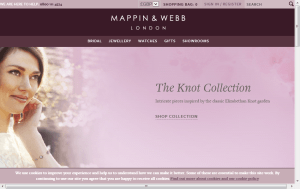 Preview 3 of the Mappin & Webb website